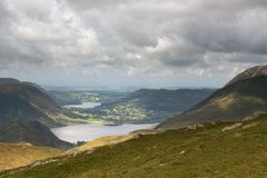 Lake District View Stock Images