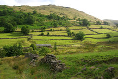 Lake District view. A photo of the Lake District stock image