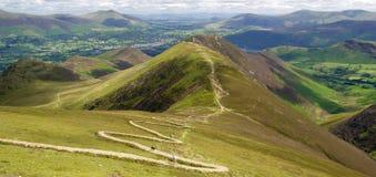 Lake District view walking; Keswick; England. A photo of  Lake District view walking; Keswick Stock Images