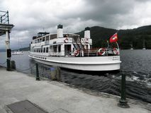 Lake District,Windermere Cruiser,MV Swan,Steamer,Cumbria Stock Image