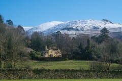 Lake District winter sunshine Stock Image