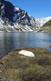 Lake Djupvatnet Royalty Free Stock Photos