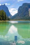 Lake Dobbiaco (Toblach, Sudtirol) Royalty Free Stock Image