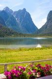 Lake Dobbiaco (Toblach, Sudtirol) Royalty Free Stock Photos