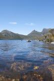 Lake Dove at Cradle Mountain Tasmania Royalty Free Stock Images