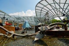 Lake of Dreams. Resorts World Sentosa. Sentosa Island. Singapore. Sentosa is a popular island resort in Singapore stock photography