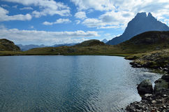 Lake du Miey in the French Pyrenees Stock Images