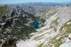 Lake in Durmitor National Park, Montenegro. Royalty Free Stock Photo