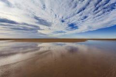 Lake Durras Sky Bottom Royalty Free Stock Image
