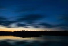 Lake at dusk. Royalty Free Stock Images