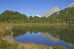 Lake in East Tyrol Royalty Free Stock Images