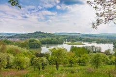 Lake Echternach Royalty Free Stock Photography
