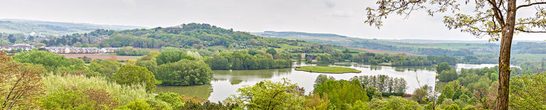 Lake Echternach Stock Photography