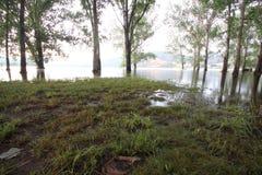 Lake Ecumbene stock image