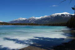 Lake Edith in Jasper Royalty Free Stock Photo