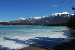 Lake Edith in Jasper Royalty Free Stock Photo
