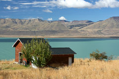 Lake (El Calafate, Argentina) Royalty Free Stock Photo