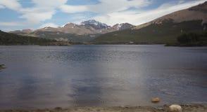 Lake at el chalten Stock Images