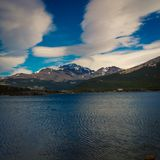 Lake at el chalten Stock Photo