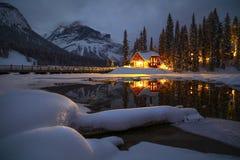 Lake Emerald, Yoho National Park, Canada. royalty free stock photos