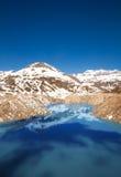 Lake Emosson reservoir Stock Photo