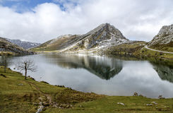 Lake Enol Covadfonga, Spain Royalty Free Stock Photography