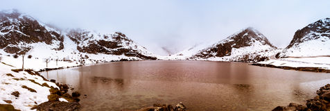 Lake Enol, Europe Peaks II,Asturias Stock Image