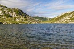 Lake Enol Stock Images