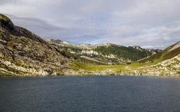 Lake Enol Royalty Free Stock Image