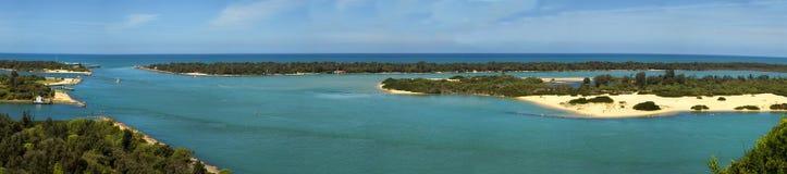 Lake Entrance in Australia Royalty Free Stock Photography