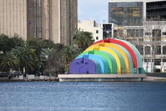 Free Lake Eola Bandshell Royalty Free Stock Images - 91858689