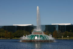 Lake Eola Fountain. In Orlando, Florida Royalty Free Stock Photos