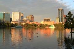 Lake Eola Orlando Florida Royalty Free Stock Image