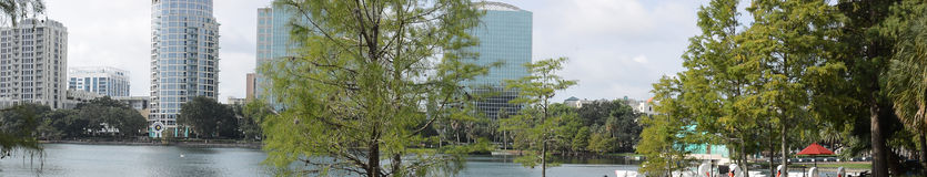 Lake Eola Orlando Florida Stock Photos