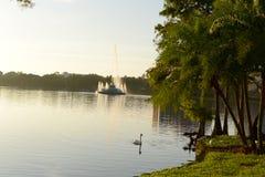 Lake Eola Orlando Florida Stock Photography
