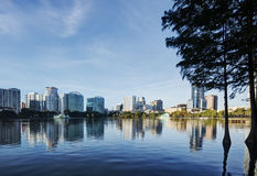 Lake Eola Park Royalty Free Stock Images