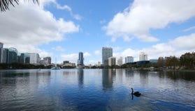Lake Eola Park in Orlando, Florida Royalty Free Stock Image