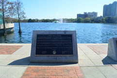Lake Eola Park in Orlando Royalty Free Stock Photography