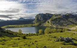Lake Ercina, Asturias Royalty Free Stock Photos
