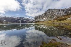 Lake Ercina Covadfonga, Spain Royalty Free Stock Photos
