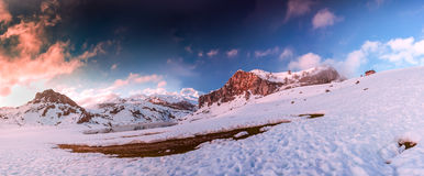 Lake Ercina, Europe Peaks,Asturias Royalty Free Stock Image