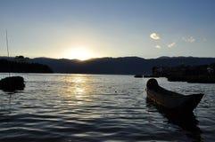 Lake Erhai, Yunnan province, China. Stock Images