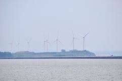 Lake Erie, принятое в Baffalo Стоковое Изображение RF
