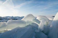 Lake Erie Ice Stock Photos