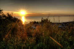 Lake Erie Sunrise Royalty Free Stock Images