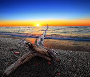 Lake Erie Sunset Stock Photos