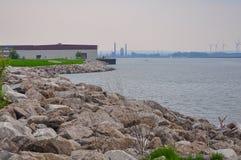 Lake Erie, taken in Baffalo Stock Photos