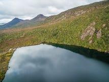 Lake Esperance, Hartz Mountains National Park, Tasmania. Australia stock images