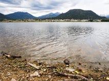 Lake Estes in Colorado, USA Royalty Free Stock Photography