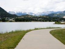 Lake Estes in Colorado, USA Royalty Free Stock Images